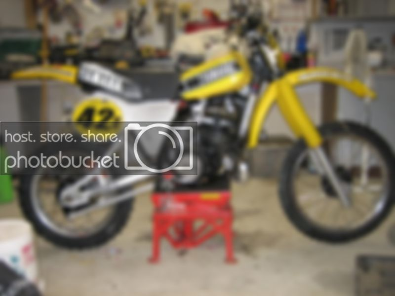 1981 Yamaha YZ250 Old School Moto Motocross Forums