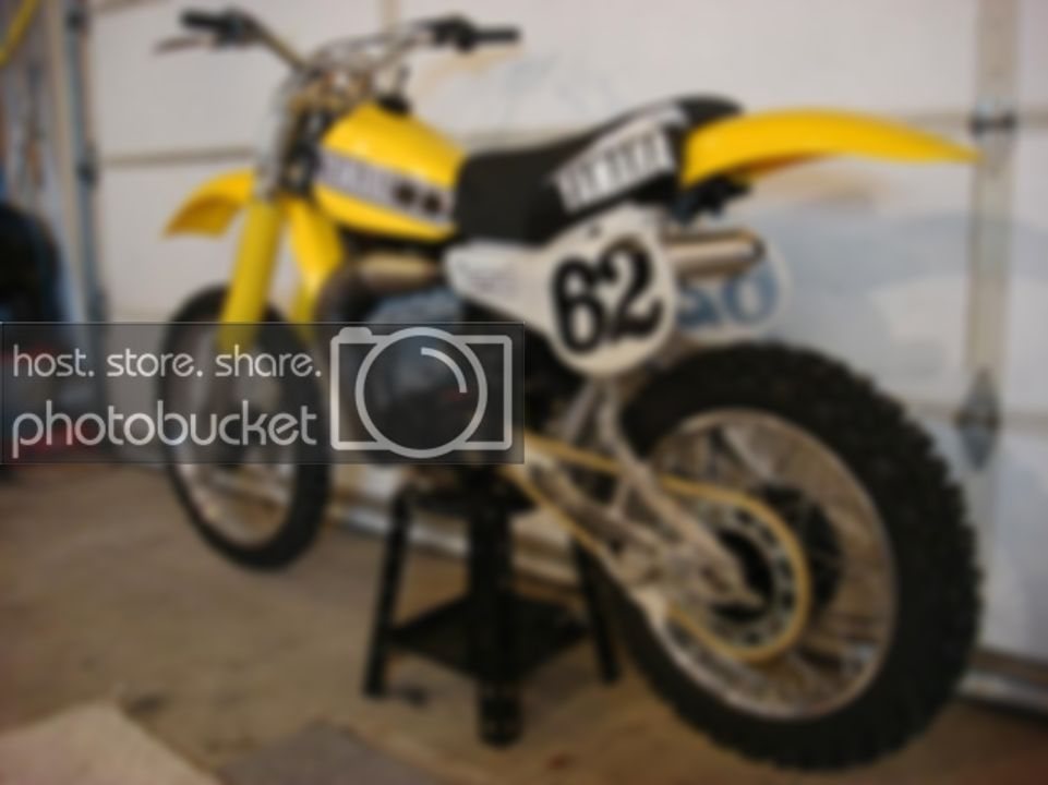 1980 YZ 250 Old School Moto Motocross Forums Message